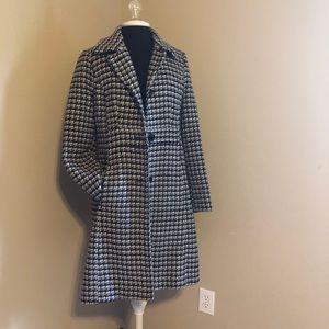 CRAFT & Barrow coat in houndstooth